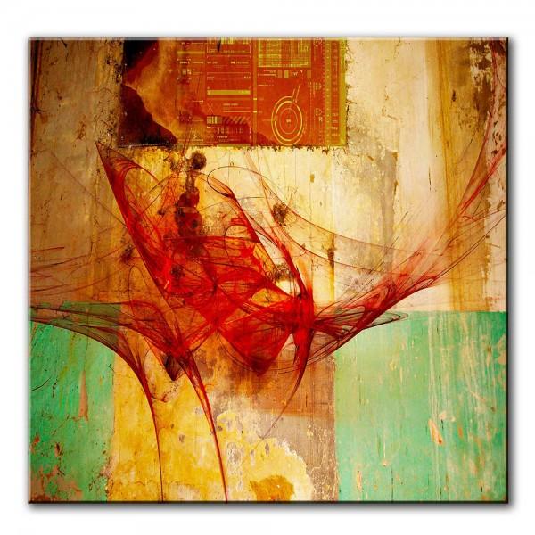 Klang des Wunderbaren, abstrakt, 60x60cm