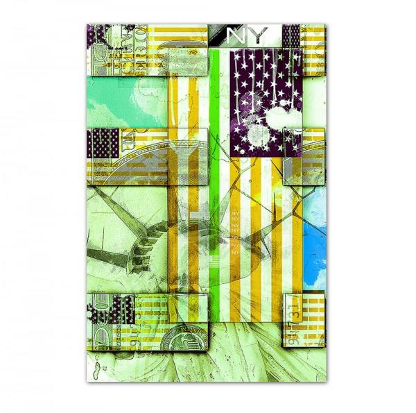 USA 3, Art-Poster, 61x91m