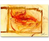 Oriental Lace - Sinus Art Wandbild auf Leinwand ENIGMA SERIE