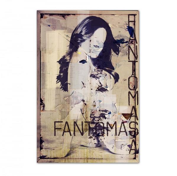 Fantomas, Art-Poster, 61x91cm