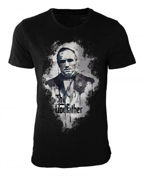 The Godfather Damen und Herren T-Shirt schwarz / black