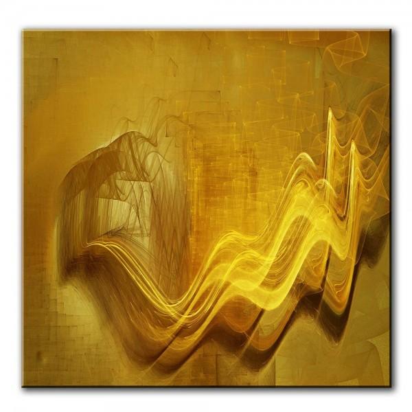 Windschleier, abstrakt, 60x60cm