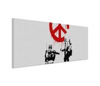 Banksy Peace 150x50cm