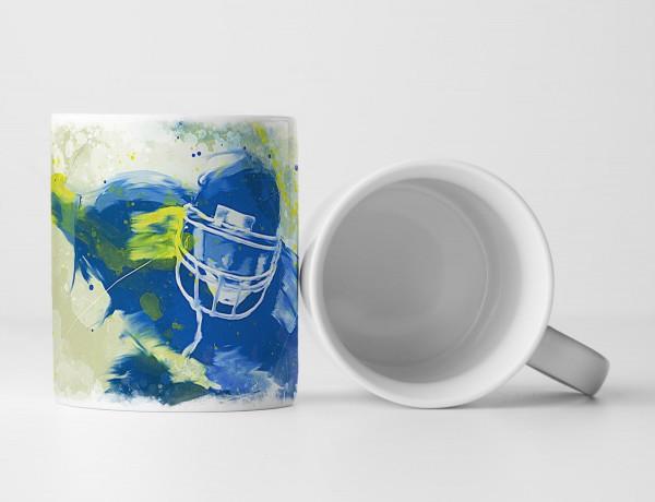 American Football II Tasse als Geschenk, Design Sinus Art