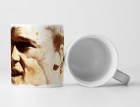 Brad Pitt Fight Club Tasse als Geschenk,  Design Sinus Art
