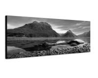 150x50cm Neuseeland Berge Wasser Landschaft