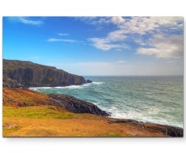 Landschaft – Blick übers Meer - Leinwandbild