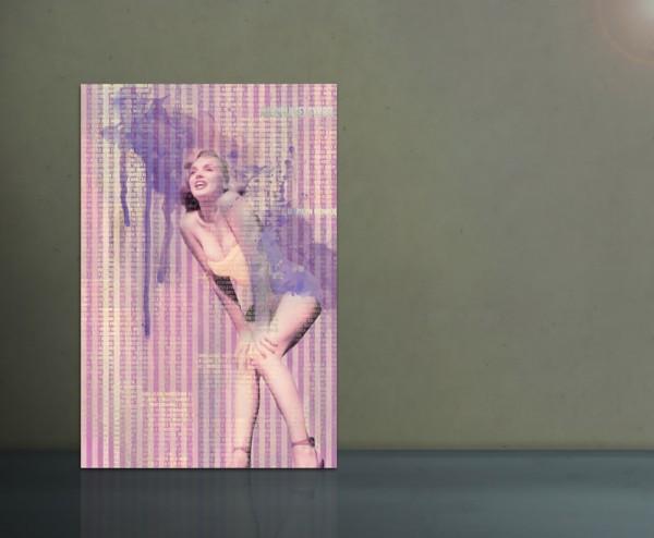Marilyn Monroe Beach 80x120cm