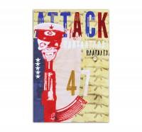 Attack 47, Art-Poster, 61x91cm