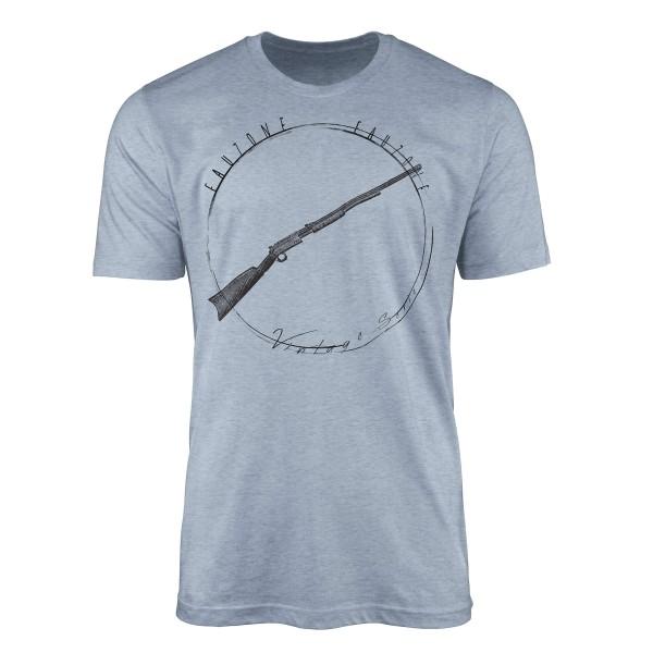 Vintage Herren T-Shirt Gewähr