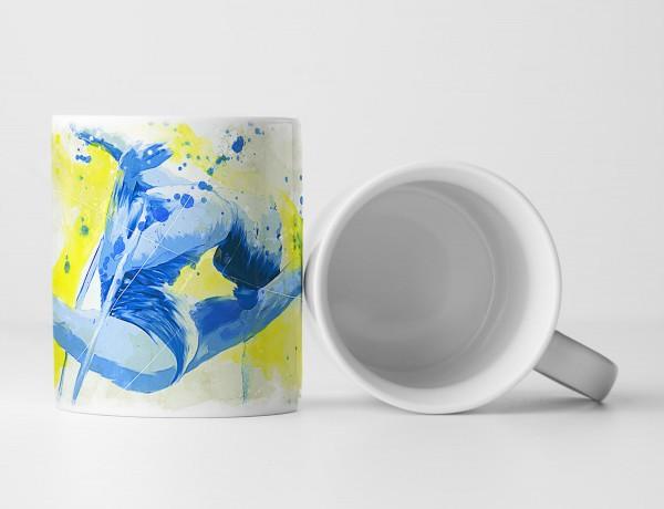 Turnen I Tasse als Geschenk, Design Sinus Art