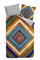 Abstrakt Kunst Geometrie Muster Bettwäsche Set 135x200 cm + 80x80cm  Atmungsaktiv