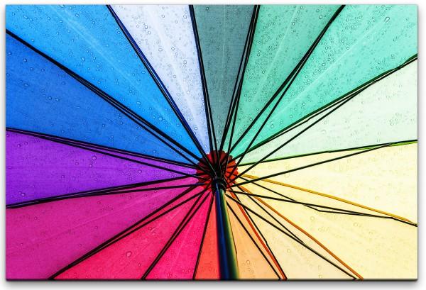 Regenschirm Wandbild in verschiedenen Größen