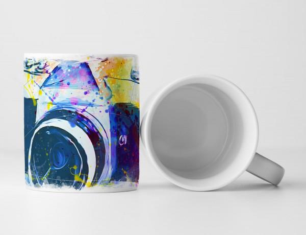 Vintage Camera Tasse als Geschenk, Design Sinus Art