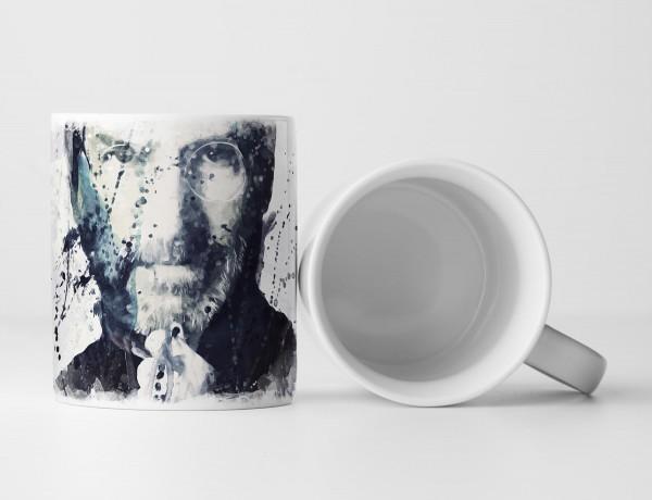 Steve Jobs Tasse als Geschenk, Design Sinus Art