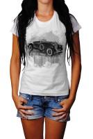 Auburn Speedster Herren und Damen T-Shirt BLACK-WHITE