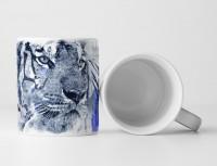 Tiger II Tasse als Geschenk,  Design Sinus Art