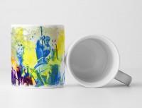 Brandenburger Tor Quadriga Tasse als Geschenk,  Design Sinus Art
