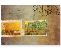Ronnie - Sinus Art Wandbild auf Leinwand ENIGMA SERIE