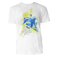 Pferdesport seitlich Sinus Art ® T-Shirt Crewneck Tee with Frontartwork