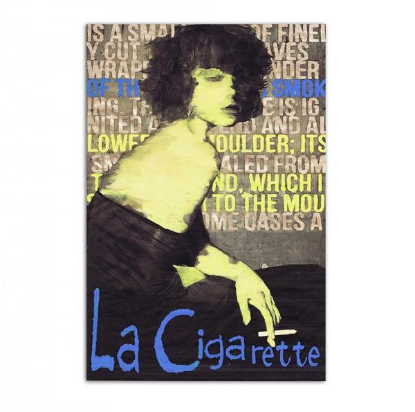 La cigarette, Art-Poster, 61x91cm