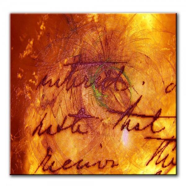 Worte der Vergangenheit, abstrakt, 60x60cm