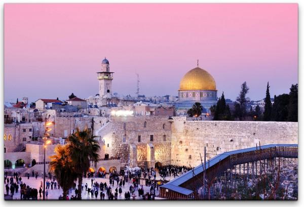 Jerusalem Wandbild in verschiedenen Größen