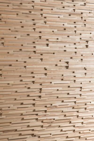 """Holz Naturwand : neues Holz - """"FRACTUS"""""""