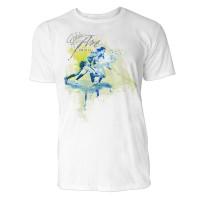 Hockey Sinus Art ® T-Shirt Crewneck Tee with Frontartwork