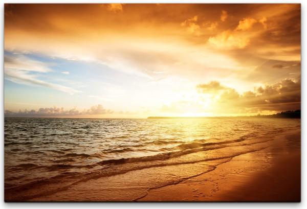 Sonnenaufgang am Atlantik Wandbild in verschiedenen Größen