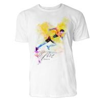 Sprintrennen Sinus Art ® T-Shirt Crewneck Tee with Frontartwork