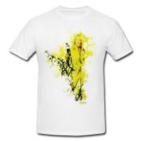 Uma Thurman Kill Bill Art Premium Herren und Damen T-Shirt Motiv aus Paul Sinus Aquarell