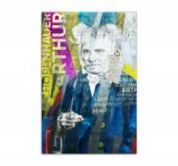 Arthur Schopenhauer, Art-Poster, 61x91cm