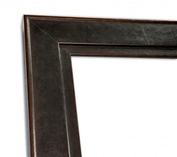 Echtholz Bilderrahmen ANGUS - Flat - Antique Brown