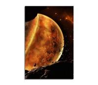 Melting Planet Fantasy Art 90x60cm