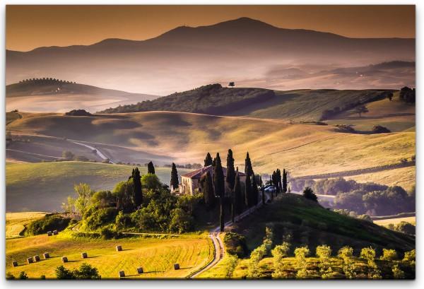 Toskana Italien Wandbild in verschiedenen Größen