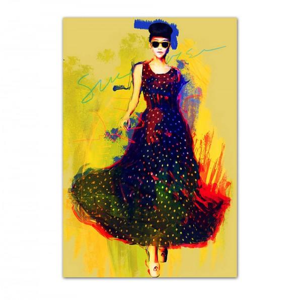 Sunny walk, Art-Poster, 61x91cm