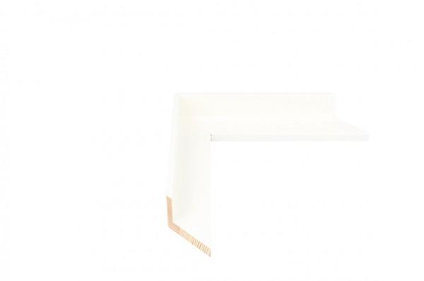 Echtholz Bilderrahmen FLOATS - Weiß