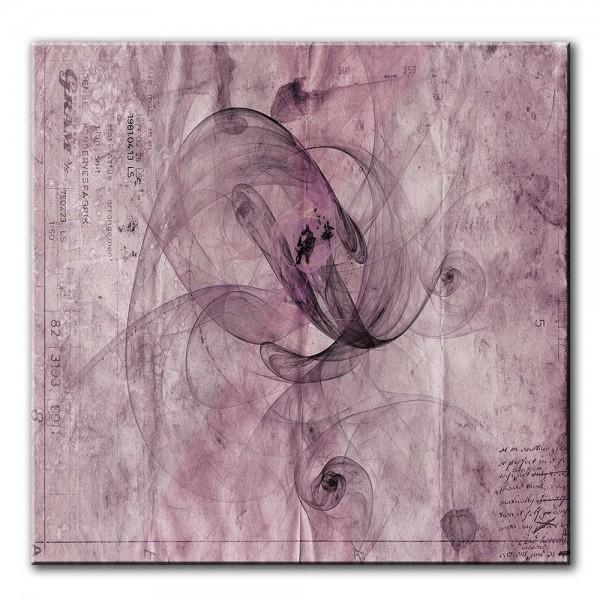 Gram, abstrakt, 60x60cm