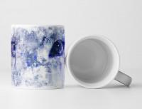 White Tiger Tasse als Geschenk,  Design Sinus Art