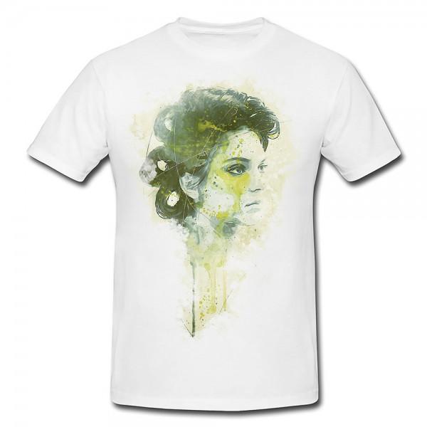 sldjls Premium Herren und Damen T-Shirt Motiv aus Paul Sinus Aquarell