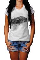 Aston Martin Vanquish Herren und Damen T-Shirt BLACK-WHITE