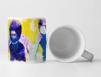 Bobsport III Tasse als Geschenk,  Design Sinus Art