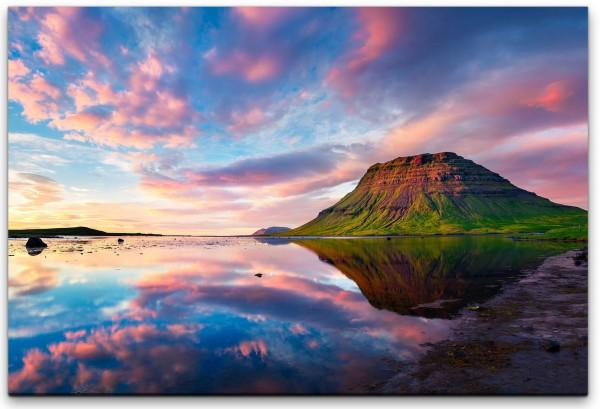 Landschaft Berg und Wasser Wandbild in verschiedenen Größen