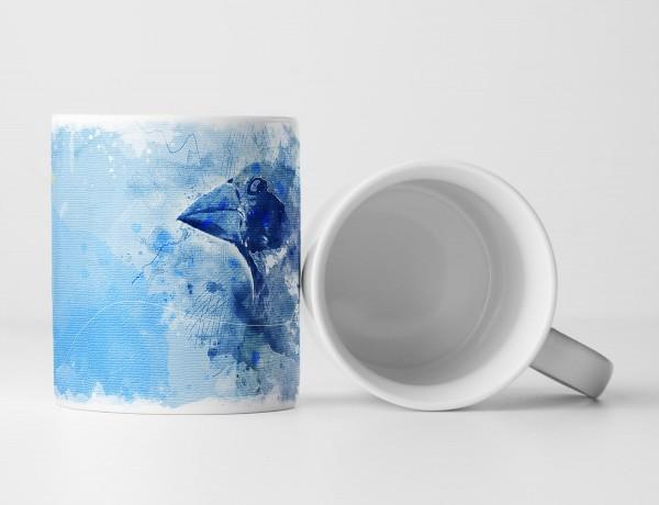 Bird II Tasse als Geschenk, Design Sinus Art