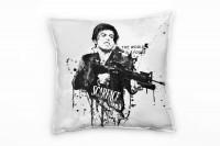 Al Pacino Scarface III Deko Kissen Bezug 40x40cm für Couch Sofa Lounge Zierkissen