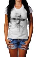Audrey Hepburn-2 Herren und Damen T-Shirt BLACK-WHITE