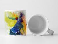 Bowling Tasse als Geschenk,  Design Sinus Art