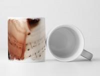 Tasse Geschenk Künstlerische Fotografie – Violine und Notenblatt
