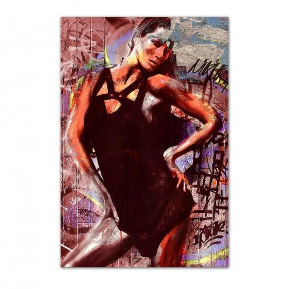 Street Girl, Art-Poster, 61x91cm